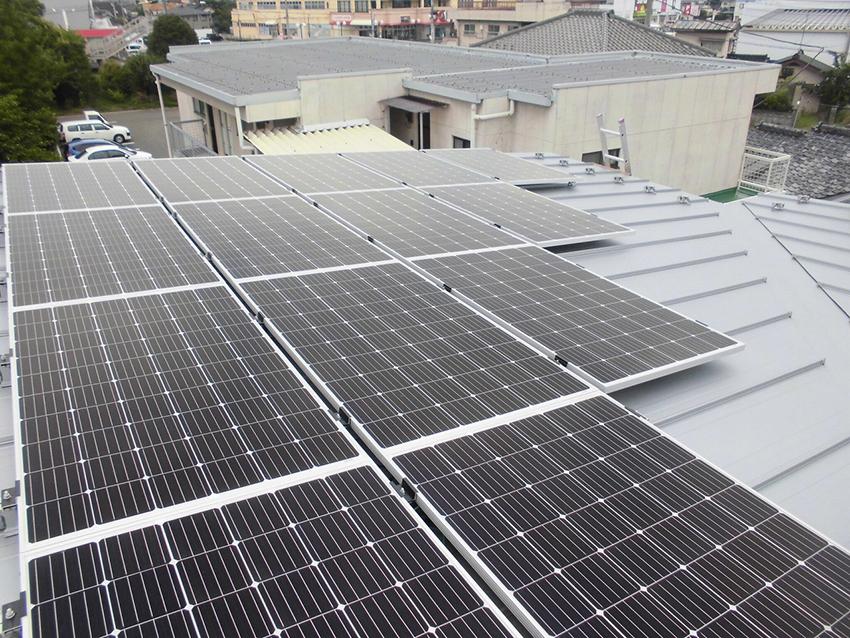 太陽光発電システム4.34KW搭載